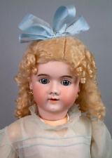 "31"" Handwerck Halbig 109 Antique Bisque German Doll on Mint Body"