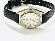 Vintage Sharp Quartz GoldTone Ladies Wrist Watch Very Elegant(20867M)