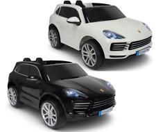 Kinder Elektro Auto Fahrzeug Zwei/Doppelsitzer Porsche Cayenne S 12V Kinderauto
