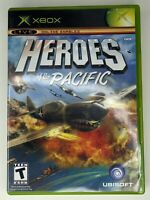 Heroes Of The Pacific Microsoft Xbox, 2005 Complete CIB