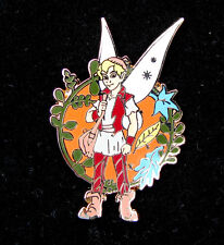 PC62  DISNEY PIN FAIRY WITH STARRY WINGS AND ORANGE BACKGROUND WAS $4.95