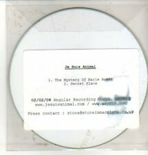 (CQ248) Je Suis Animal, The Mystery of Marie Roget - 2008 DJ CD