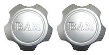 SPUN ALUMINUM GAS TANK - BAM BILLET FILLER CAP WITH STEEL WELD ON FITTING 2 Pack
