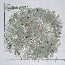 FLUORITE 3-5mm Rainbow, blue, etc. tumbled 1/2 lb bulk stones, xxmini+ Mexico