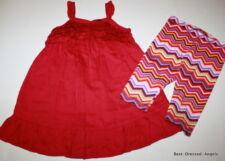 BABY GAP Dress Leggings Set Girl Size 3 Pretty Boutique Clothes BP