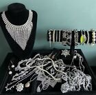 Job Lot Costume Jewellery Used Lovely Necklaces Bracelets All Wearable