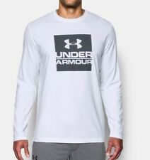 Under Armour Mens Boxed Logo Long Sleeve Charged Cotton T-Shirt - Xl - Nwt