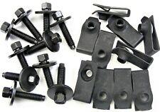Bolts & Long U-nut Clips- M6-1.0 x 28mm Long- 8mm Hex- 20 pcs (10ea)- LD#405
