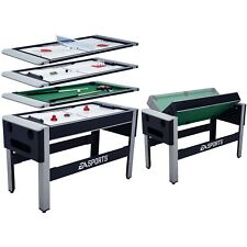 """54"""" Game Table Combo Swivel Multi Table Tennis Hover Hockey Bowling Billiard New"""