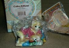 Enesco Calico Kittens - Creature Comforts Dated 2000