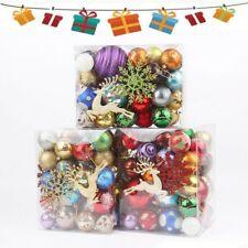 30-70PCS/Box Bola De Brillo De Navidad Bola adornos de árbol de Navidad Colgante Decoración De Fiesta