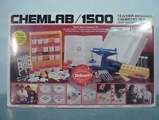 NEW SEALED Skilcraft CHEMLAB 1500 Teacher Designed Experiments CHEMISTRY SET