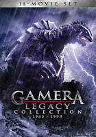 Gamera Showa & Heisei 11-Movie Legacy Collection 1965-1999 4-DVD NEW OOP! SALE!