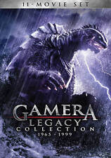 Gamera: Legacy Collection 1965-1999 (DVD, 2014, 4-Disc Set) Brand New 11 Movies