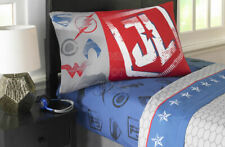 SFK DC Comics Superhero Justice League Microfiber Twin Sheet Set bed bedroom