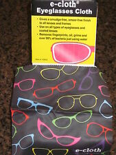 E-CLOTH EYEGLASS GLASSES LENS CLEANING CLOTH - EXTRA LARGE - 300 WASH GUARANTEE