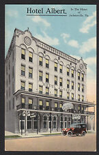 Jacksonville-Florida-Hotel Albert-Antique Postcard