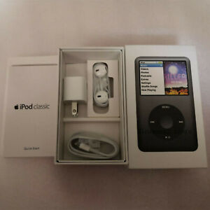 """""""Packaging Box Only"""" For IPod Classic 7th Gen 80GB Black Brand New"""