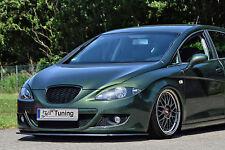 Noak ABS Cuplippe Frontspoilerlippe Spoilerschwert für Seat Leon 1P mit ABE