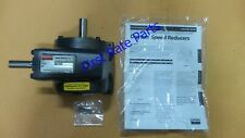 Dayton 2Z306 Speed Reducer Indirect Drive 30 RPM 1750 Right Angle 58:1 0.3 HP