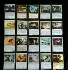 REF.7 Lot de 20 RARES ARTEFACT VF - cartes Magic MTG éditions variées incolore