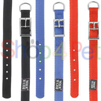 DOG COLLARS Walk 'r' Cise, Neck Size 14 - 18 - 22 & 26 Inch - Nylon in 3 Colours