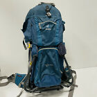 Deuter Kid Comfort II 2 Child Carrier Hiking Backpack Blue Outdoors Camping EUC
