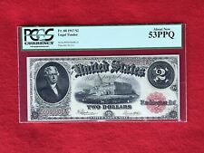 FR-60 1917 Series $2 United States Legal Tender Note *PCGS 53 PPQ About New*