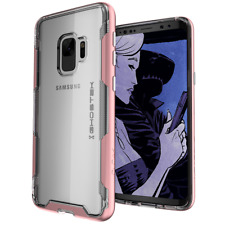 Galaxy S9/S9 + CASE Ghostek CLOAK Slim Clear Shockproof Cover Wireless Charging
