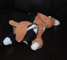 Ty Beanie Baby Chip Cat Brown Black Bean Bag Plush Stuffed Animal Toy No Tag