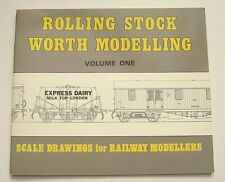 Softback Book Rolling Stock Worth Modelling # 1 Scale Drawings For Modellers NM