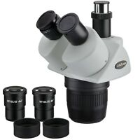 AmScope SW24T 20x-40x Super Widefield Stereo Trinocular Microscope Head