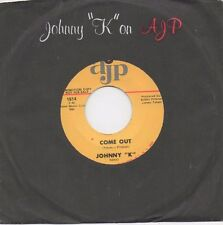 Johnny K - Come Out (AJP) Orig. Drum Breaks Funk Soul 45 rpm 7 Inch