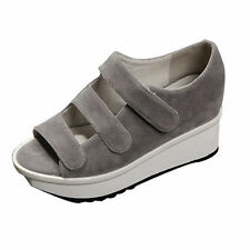 Women's Suede Velcro Sandals and Flip Flops