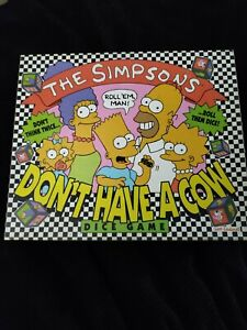 The Simpsons Don't Have a Cow board game