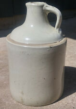 Vintage Antique Bottom Signed 1 Gallon Red Wing Minnesota Stoneware Syrup Jug