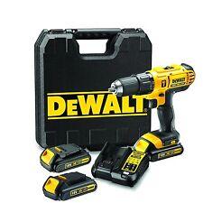 DEWALT DCD776C3 - PERCEUSE à Percussion 18V 3 BAT. 1, 3Ah 42Nm