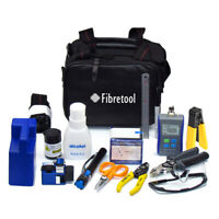 Fiber Optical Tools Kits FTTx Fiber Cleaver Power Meter FTTH Termination Tools
