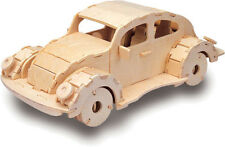 VW Retro Vintage Car 3D Wooden Modelling Kit Model Jigsaw Puzzle