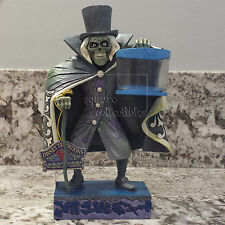 Disney Parks Haunted Mansion Hatbox Ghost Figure Jim Shore Glow in the Dark