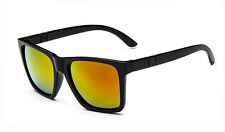 Quality Fashion Women Mens Large Frame Sunglasses UV400 Mirrored Lenses Eyewear