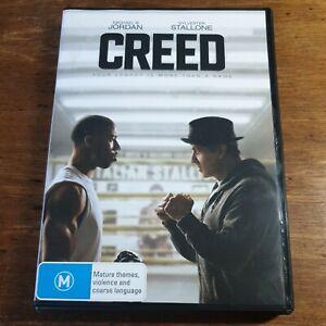 Creed DVD Michael B Jordan R4 Like New! FREE POST