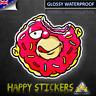 Homer Simpson Donut Luggage Skateboard Bike Guitar Scooter Vinyl Decal Sticker