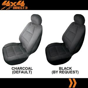 SINGLE PADDED VELOUR SEAT COVER FOR TRIUMPH TR 2
