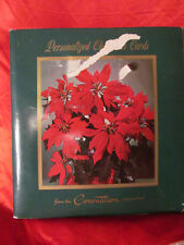 A Book of 45 Vintage Christmas Cards from The Coronation Collection Card Catalog