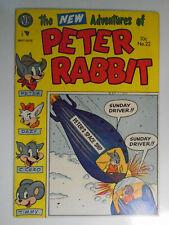 Peter Rabbit #22, 1954, Avon, Fine-, 5.5, White Pages