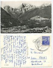 15758 - Mauthen im Gailtal - Cellonkofel - Echtfoto - AK, gelaufen 25.6.1962