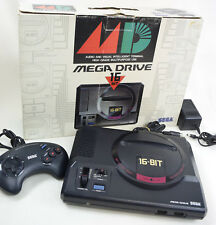 Mega Drive Console System Boxed Ref/80Q76123 Tested SEGA HAA-2510 JAPAN