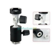Photo Flash Adapter Hot Shoe Swivel Light Stand Mount Umbrella Holder Bracket