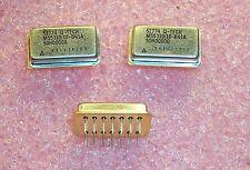 QTY (3) M55310/18-B41A-50H0000 QTECH 50Hz CMOS QPL OSCILLATOR 14 PIN NOS